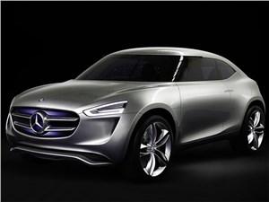 Mercedes-Benz G-Code concept 2014 Мобильная лаборатория