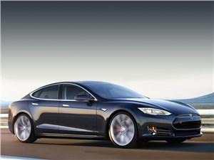 Новый Tesla Motors Model S - Tesla Model S P85D 2014 Электрический скат