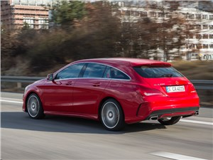 Mercedes-Benz CLA Shooting Brake 2016 вид сбоку сзади
