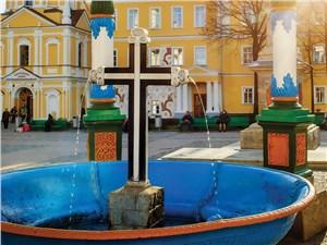 Источник в Троице-Сергиевой лавре называют чудодейственным