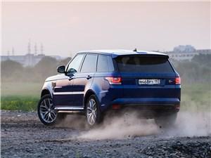 Предпросмотр land rover range rover sport svr 2015 вид сзади