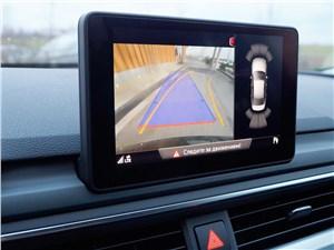 Audi A4 2016 панель парктроника