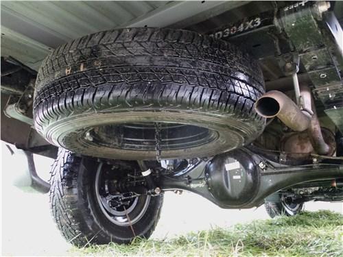 Fiat Fullback 2016 запасное колесо