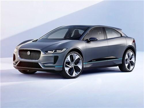Новый Jaguar I-Pace - Jaguar I-Pace Concept 2016 Электрическая кошка