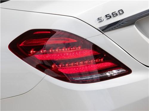 Mercedes-Benz S-Class 2018 задний фонарь