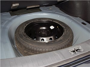 Предпросмотр nissan almera 2013 запасное колесо