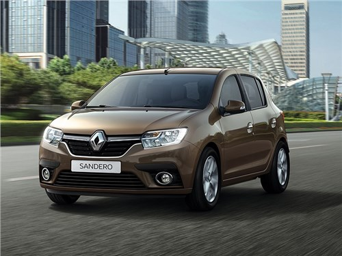 Обновленный Renault Logan почти не подорожал