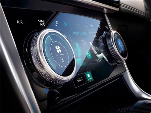 Предпросмотр jaguar xe 2020 управление климатом