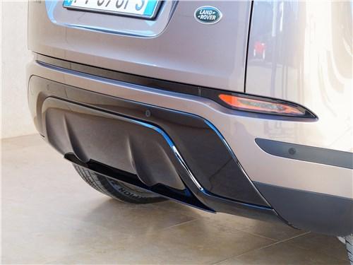 Land Rover Range Rover Evoque 2020 накладка на заднем бампере