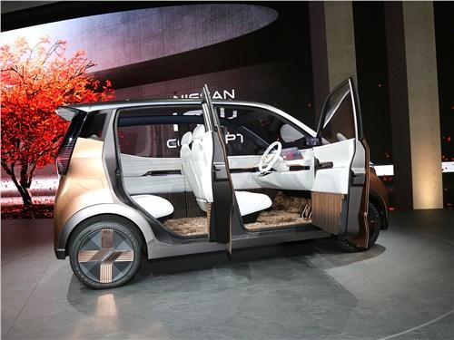 Nissan IMk Concept 2019 вид сбоку