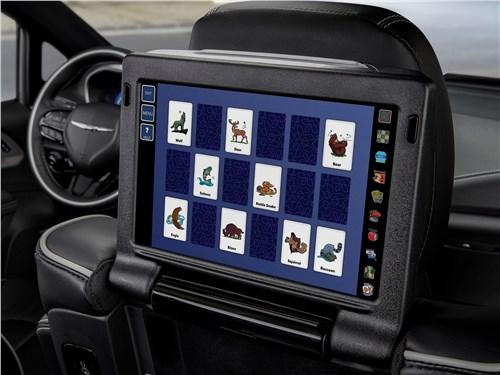 Предпросмотр chrysler pacifica 2021 монитор для пассажиров