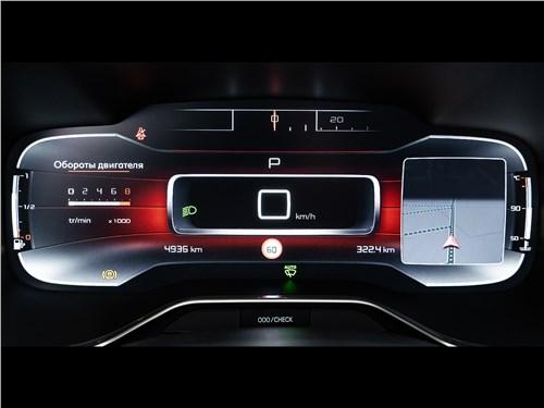 Предпросмотр citroen c5 aircross hybrid 2020 приборная панель