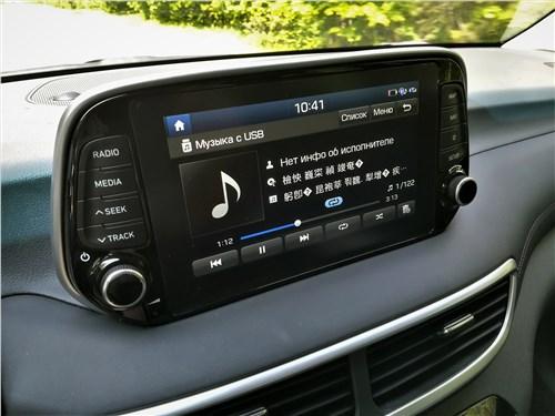 Hyundai Tucson 2019 монитор