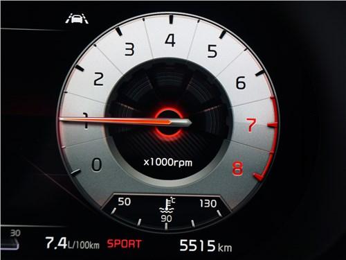 Kia K5 2021 приборная панель