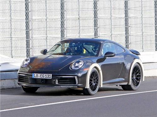 Новость про Porsche - В Porsche собираются создать внедорожную модель 911?