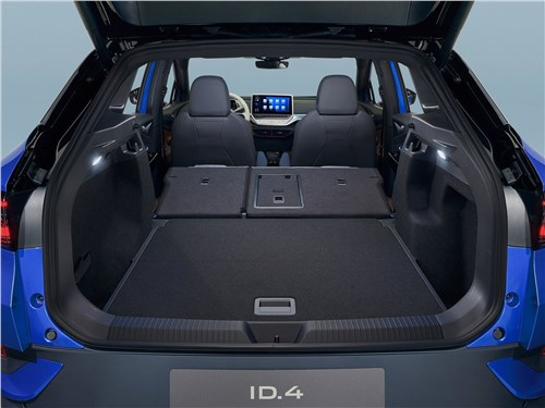 Предпросмотр volkswagen id.4 (2021) багажное отделение