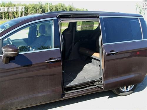 Chrysler Pacifica 2021 сдвижная дверь