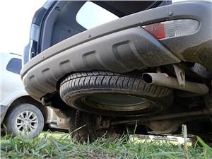 Mitsubishi Pajero Sport 2013 запасное колесо
