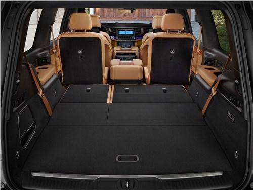 Предпросмотр jeep grand wagoneer (2022) багажное отделение