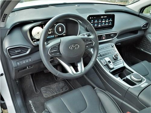 Hyundai Santa Fe (2021) салон