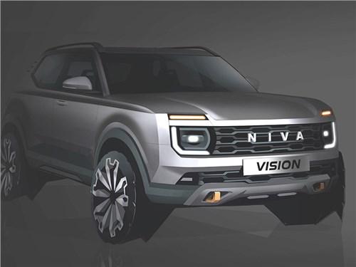 Новость про Lada - АвтоВАЗ показал новую «Ниву»