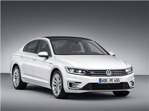 Volkswagen Passat GTE 2015 Доступ к розетке