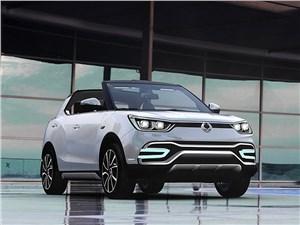 Предпросмотр ssangyong xiv-air concept 2014 вид спереди