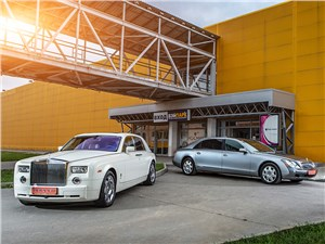 Rolls-Royce Ghost, Maybach 62 - maybach 62 и rolls-royce phantom ewb выше некуда