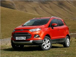 Ford EcoSport - ford ecosport 2013 сам по себе