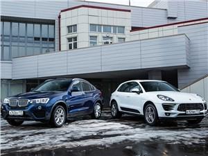 BMW X4 - сравнительный тест bmw x4 xdrive30d и porsche macan s. в едином ритме