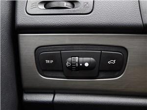 Geely Emgrand X7 2014 кнопка управления меню бортового компьютера