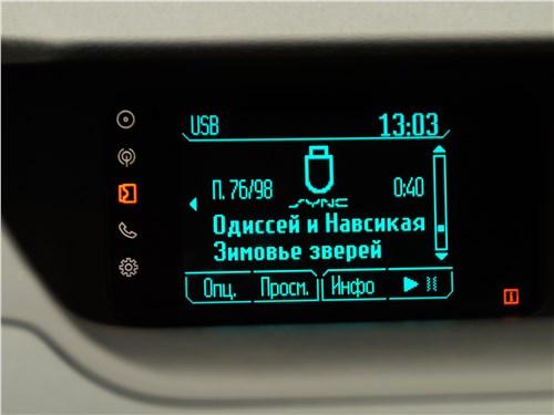 Ford EcoSport 2013 монитор