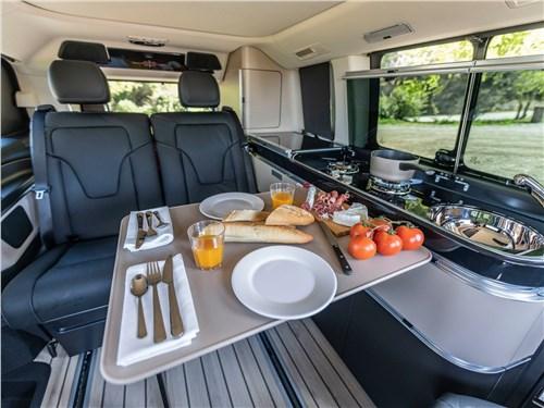 Предпросмотр mercedes-benz v-klasse 2020 обеденный столик