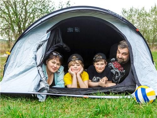 Палатка и спортивный инвентарь – далеко не всё, что поместилось в наш Kodiaq