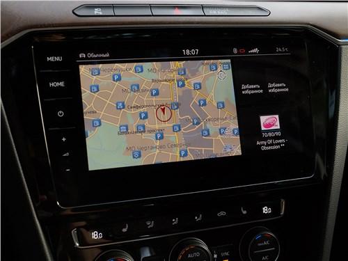 Предпросмотр volkswagen passat 2015 центральная консоль