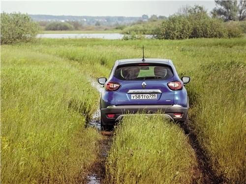 Renault Kaptur 2020 вид сзади