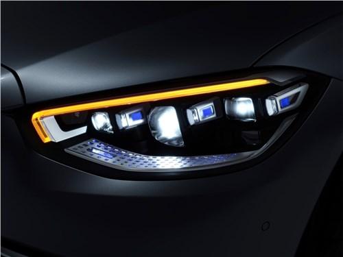 Предпросмотр mercedes-benz s-class (2021) передняя фара