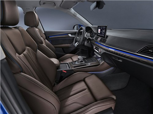 Предпросмотр audi q5 sportback (2021) передние кресла