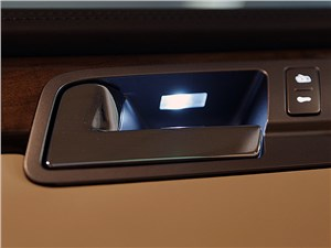 Volkswagen Phaeton 2011 подсветка внутренних дверных ручек