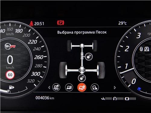 Land Rover Range Rover Sport SVR (2018) приборная панель