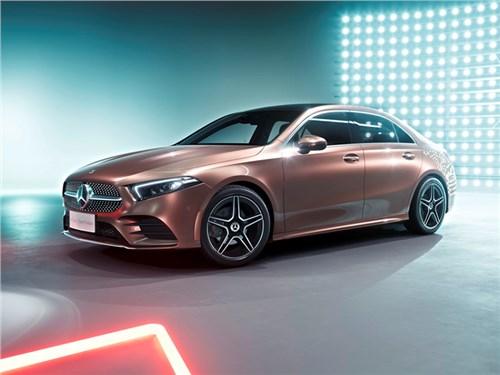 Mercedes-Benz А-класса. Теперь и седан. Длинный седан