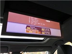 Предпросмотр acura mdx 2014 откидной дисплей на потолке