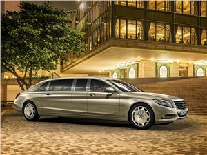 Mercedes-Benz S600 Pullman Maybach 2016 Президентам и шейхам