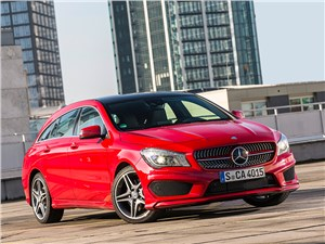 Mercedes-Benz CLA Shooting Brake 2016 Спорт плюс мода