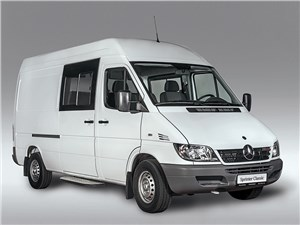 Новый Mercedes-Benz Sprinter - Mercedes-Benz Sprinter Classic Mixto 2015 Назло кризису