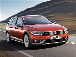 Volkswagen Passat Alltrack 2016 Пропуск на бездорожье