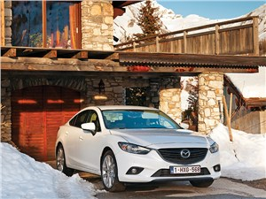 Mazda 6 - mazda 6 2013 альпийская феерия