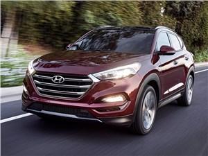 Hyundai Tucson - Hyundai Tucson 2016 вид спереди
