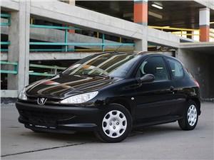 Peugeot 206 - peugeot 206 2006 маленькая черная машинка