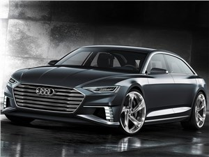 Новый Audi Prologue - Audi Prologue Avant Concept 2015 Проба пера